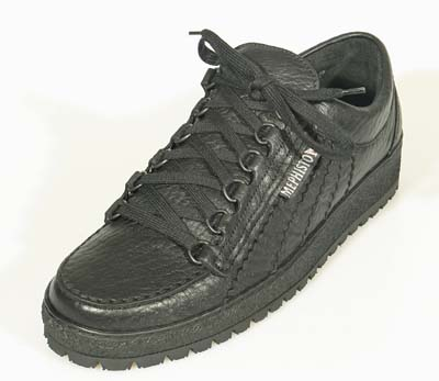 Mephisto Black Rainbow Mens Walking Shoes Free Delivery